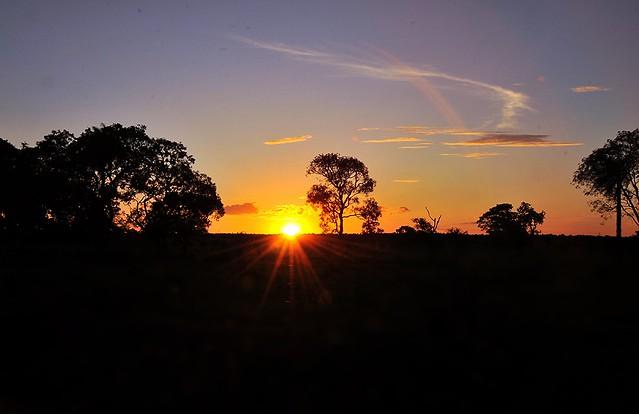 SUNSET / POR DO SOL em BONITO MS / Brasil.