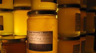 honey jars   by Shawn Caza