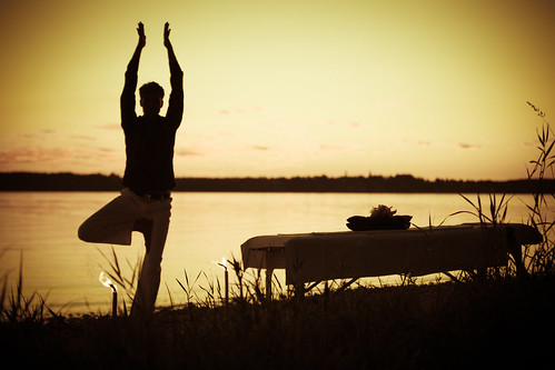 Sunset Yoga   by Ursula Le Guin Photography