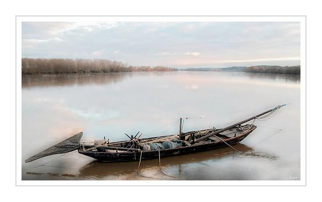 Une gabare sur la Loire