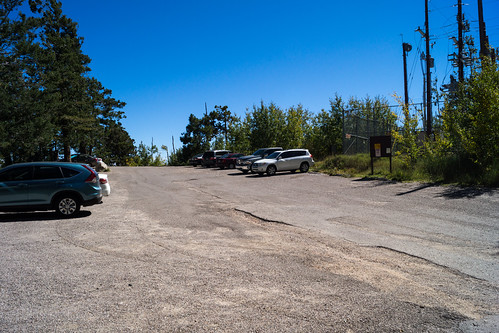 1310 Summit Parking Area Open and being used | by c.miles