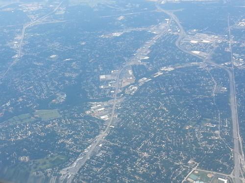 route66 aerialview aerial windowseat crestwood deadmall fromplanewindow crestwoodmall watsonrd crestwoodmo crestwoodcourt