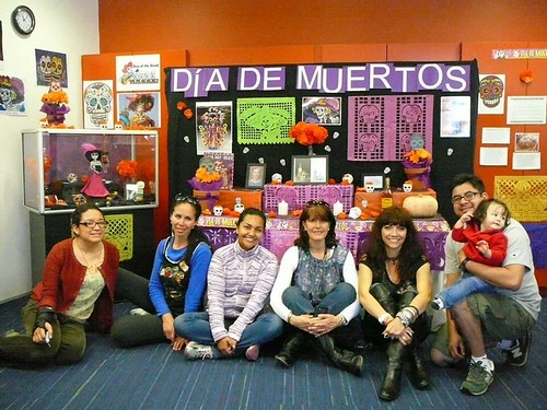 El dia de los muertos - The Day of the Dead display