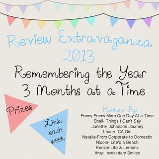ReviewExtravaganza 2013FFF   by Emmymom2