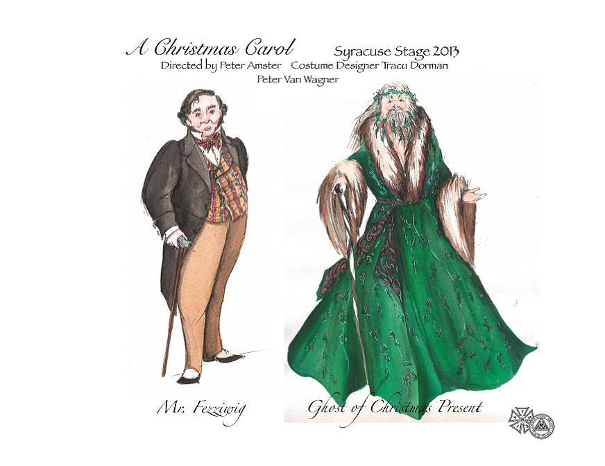 Ghost Of Christmas Present Costume.Mr Fezziwig Ghost Of Christmas Present Costume Designer