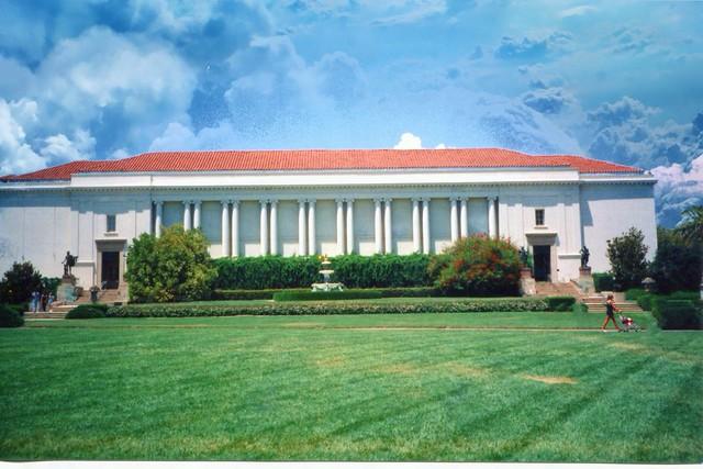 Huntington Library Art Collections & Botanical Gardens ~ San Marino CA ~ Old 35mm Film