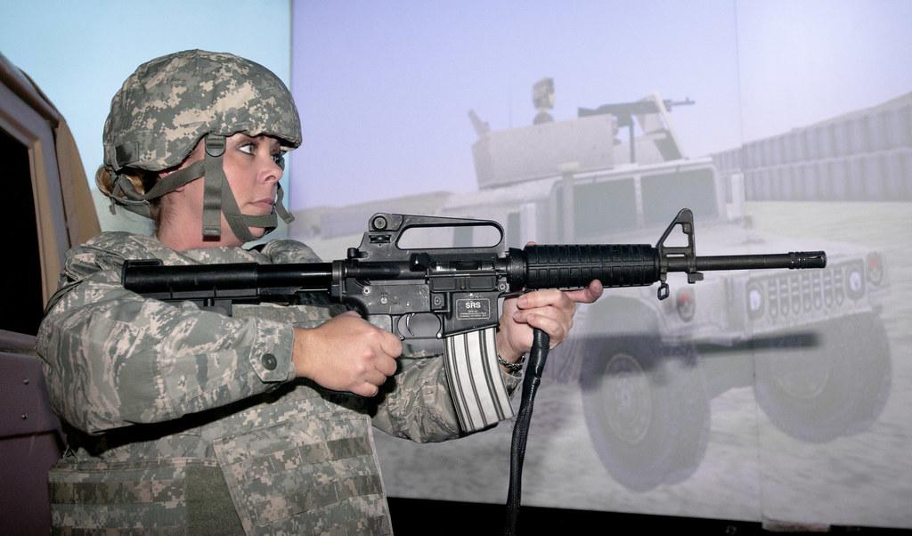 Close Combat Tactical Trainer   Air Force Master Sgt  Amber