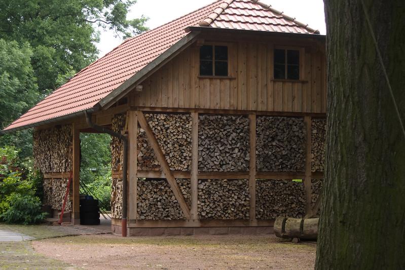 Firewood garage