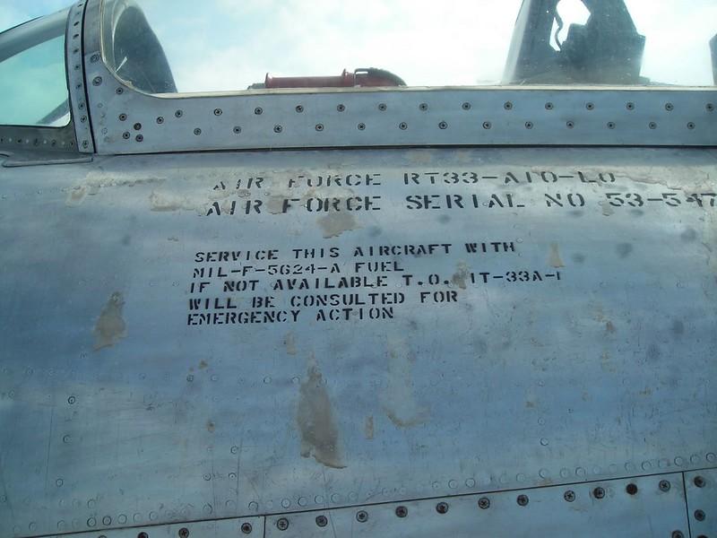 Lockheed RT-33 4