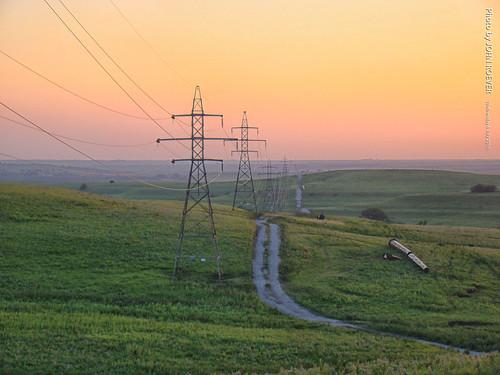 wabaunseecounty kansas usa july 2016 july2016 evening prairie flinthills