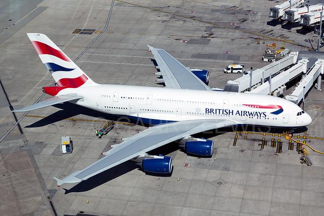 British Airways Airbus A380-800 G-XLEK [LHR]