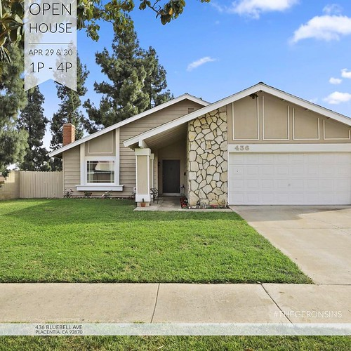 [#OPENHOUSE] Apr 29 & 30 1p-4p // #Fabulous Single Story