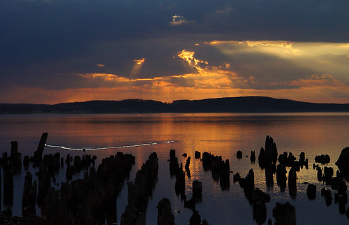sunset michigan boynecity lakecharlevoix rickrjw