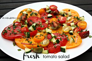 fresh tomato salad 2