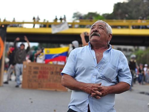 Scenes from las mercedes- Venezuela Protests | by andresAzp