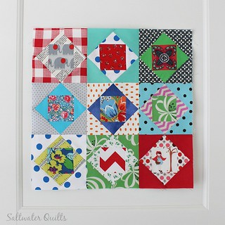 Economy Block | by Saltwater Quilts