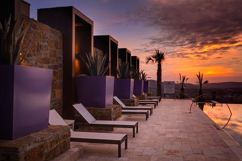 water pool sanantonio sunrise canon landscape cloudy nik partial colorefexpro