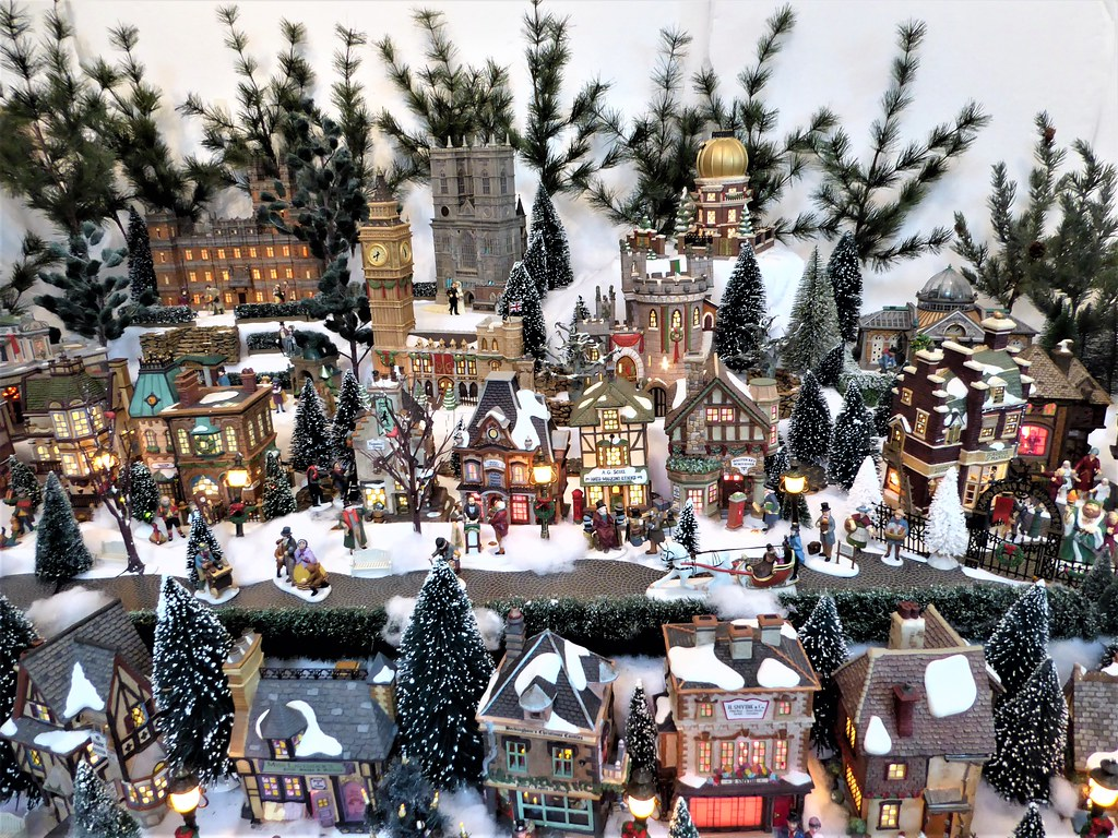 Christmas Town Florida.Ocala Fl Appleton Museum Of Art Christmas Town Display