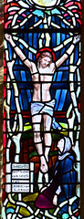 Crucifixion (Mary Lowndes, 1895)