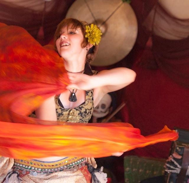 Jamila Lotus dancer