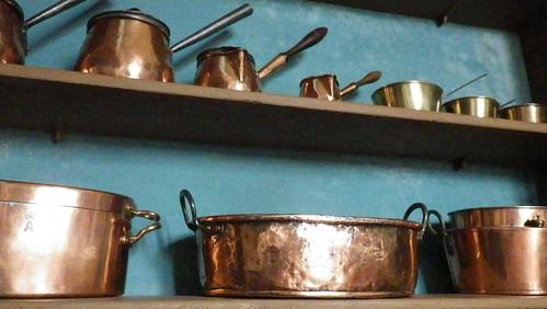 Copper Pots at Erddig - IMGP1304