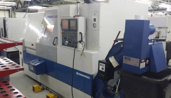 Daewoo Puma 2500LY - 2005 | Machine Specs: Control: Fanuc Li… | Flickr