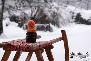 Fotografieren im Schnee | Projekt 365 | Tag 33