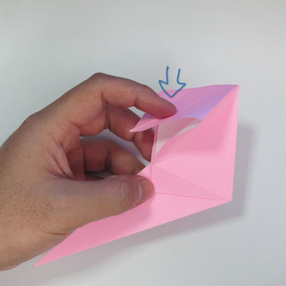 สอนการพับกระดาษเป็นลูกสุนัขชเนาเซอร์ (Origami Schnauzer Puppy) 029