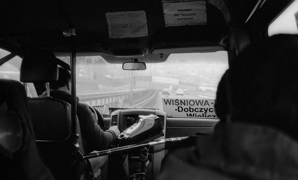 W autobusie do Krakowa / On a bus to Cracow