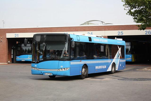 KVG: Solaris Urbino Wagen 076 im Betriebshof Sandershäuser Straße