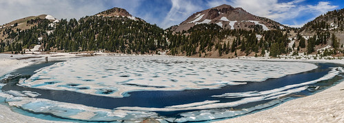 Lassen Volcanic NP - Lake Helen and Lassen Peak | by adzamba