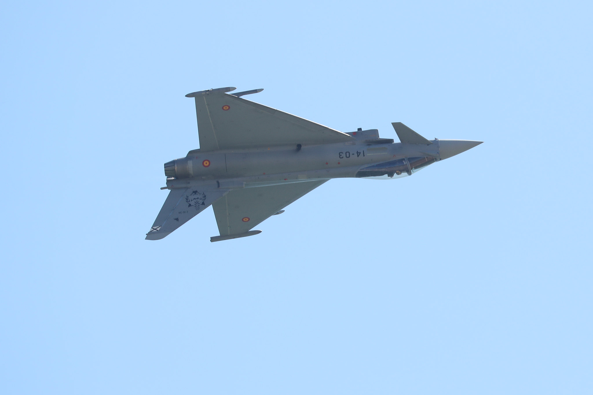 Eurofighter solo display