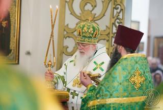 Литургия в Воскресенском соборе 300