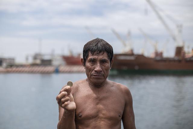 Los clavadistas de Veracruz