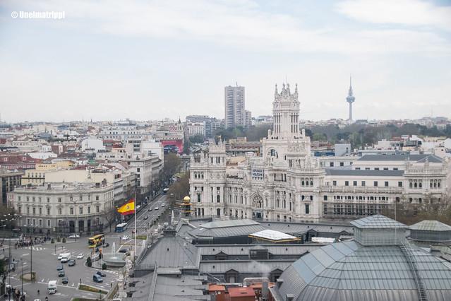 Madrid-näköala