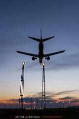 Landing at Rennes airport (LFRN)