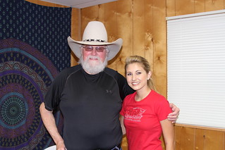 Cadie Hill of RedCowHills & Charlie Daniels | by RedCowHills