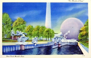 1939 New York World's Fair Postcard - The Moods of Time | by France1978