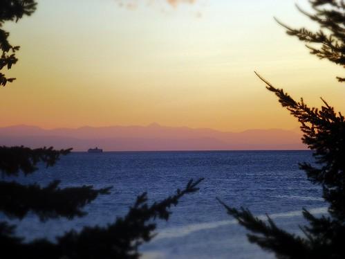 canada ferry bc britishcolumbia vancouverisland westcoast sunshinecoast powellriver georgiastrait malaspinastrait queenofburnaby mbpictures