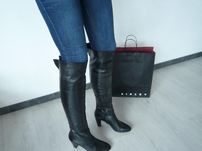 Tamaris Overkneestiefel | meine neuen otk boots | Flickr