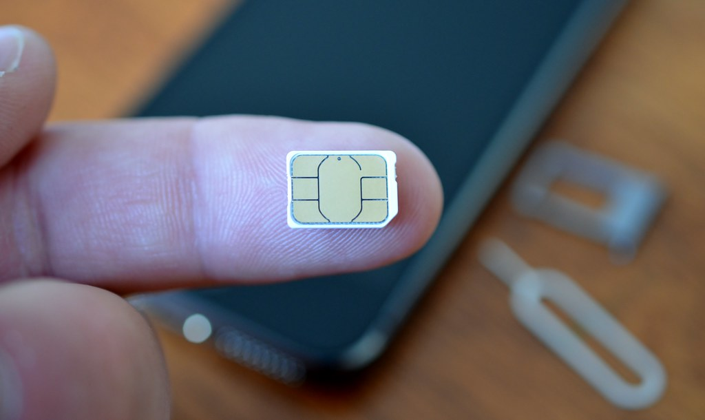 Extra small SIM card