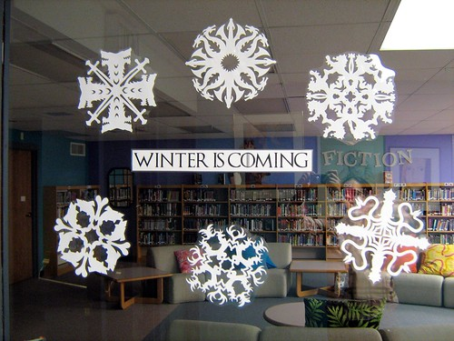 Game of Thrones snowflakes | by oddharmonic