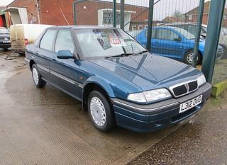 1994 Rover 416 SLi auto £495 | by Spottedlaurel