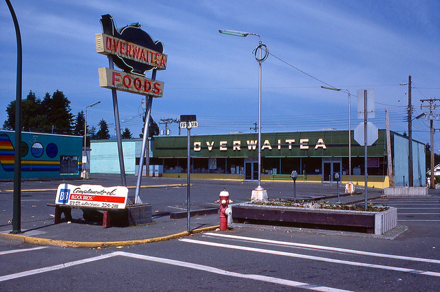 5th St.+ England Ave. - Courtenay BC - June 1978