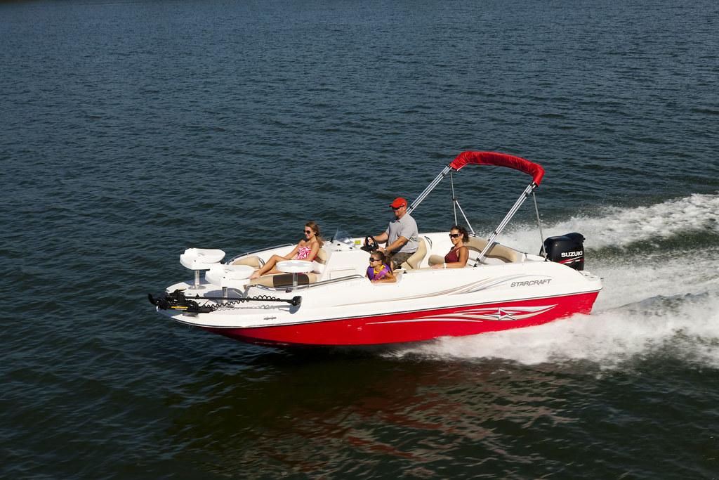 Starcraft Limited 2000 OB Fish Deck Boat   Starcraft Limited