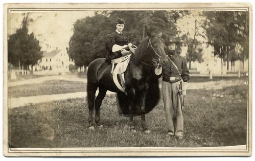 A Cavalryman and His Lady