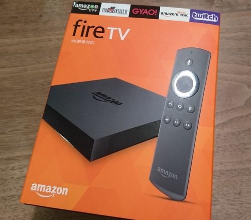 Amazon Fire TVが届いた