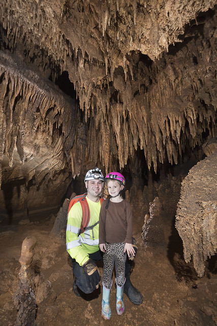 Thorn & Vaylan Walthall, Blue Spring Cave, White County, Tennessee