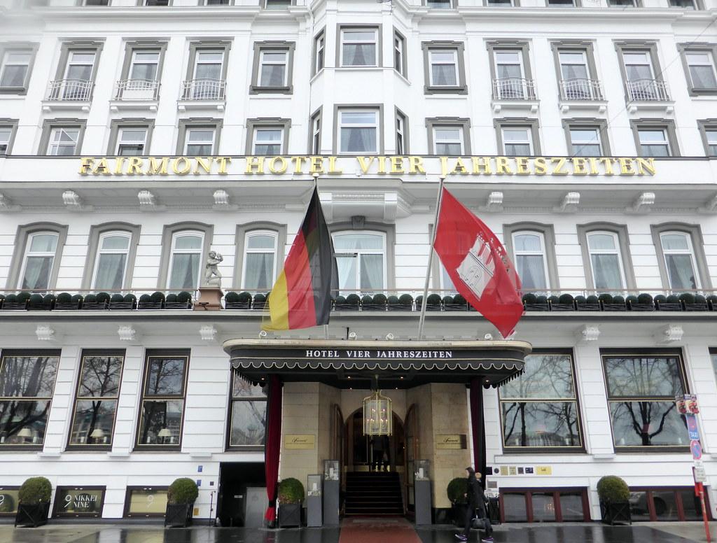Fairmont Hotel Vier Jahreszeiten Hamburg Germany Flickr