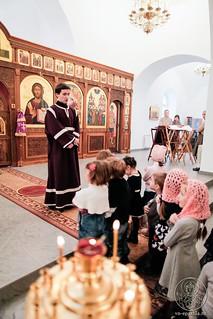 Литургия в Спасском соборе 590